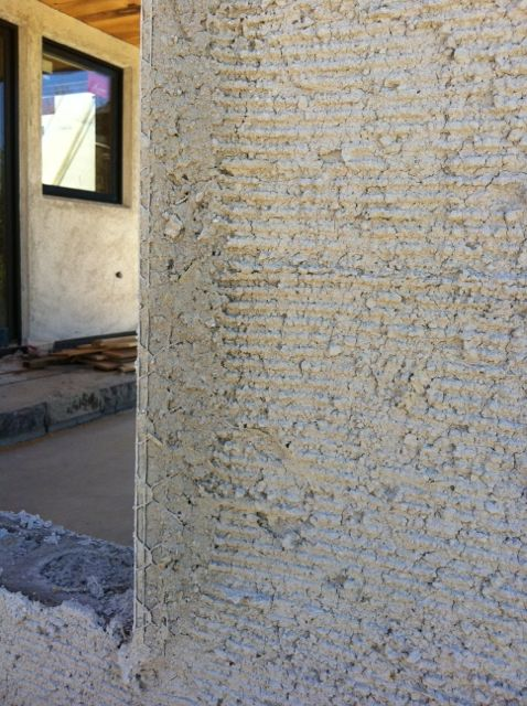 Lime based stucco