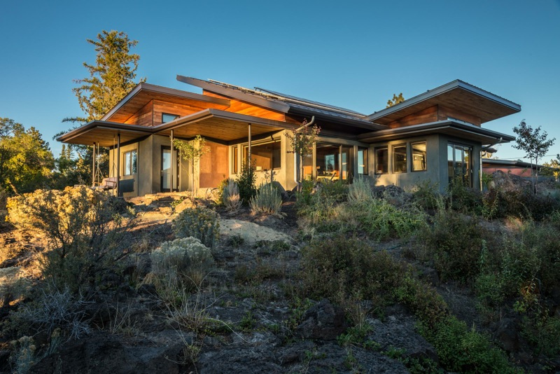 LEED Platinum Certified Custom Home Desert Rain