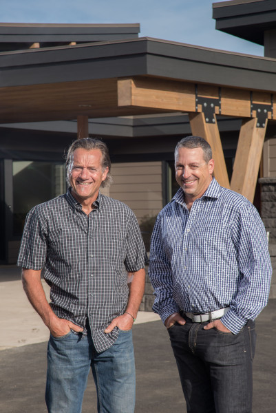 James Fagan and Kristian Willman, owners of Timberline Construction