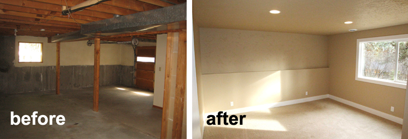 Remodel Pictures Before And After before and after: a bend 70's home remodeled | timberline