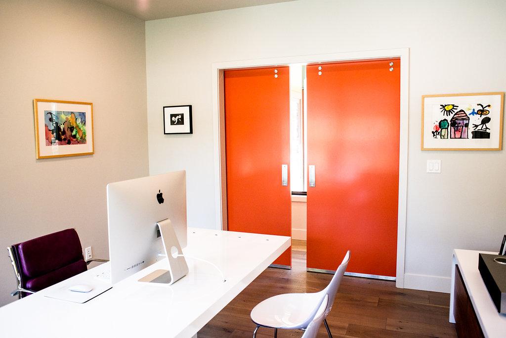 Barn Doors as Accent Walls